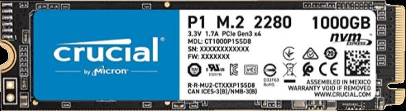 Entscheidende P1 1 TB NVMe SSD