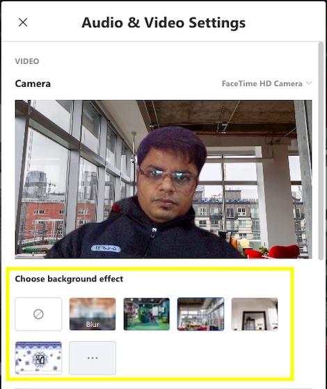 Fügen Sie einen virtuellen Hintergrund für Skype-Videoanrufe hinzu