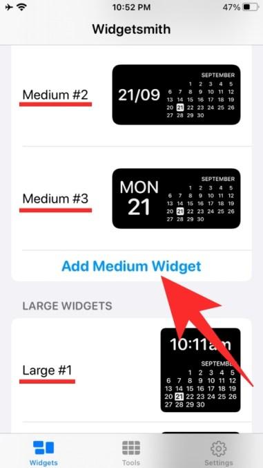 Verwendung von Widgetsmith-13-a