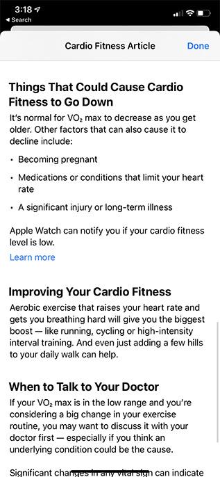 wie man die Cardio-Fitness verbessert
