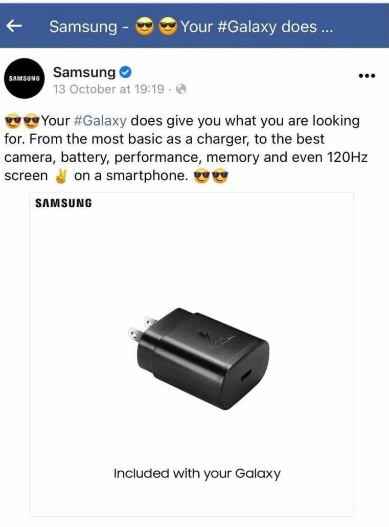 Samsung löscht Anzeige, in der Apple verspottet wurde, weil es ein iPhone ohne Ladegerät verkauft hat
