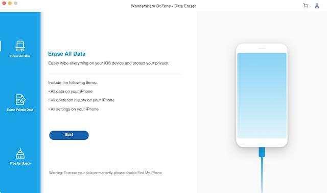 4. iOS Data Eraser