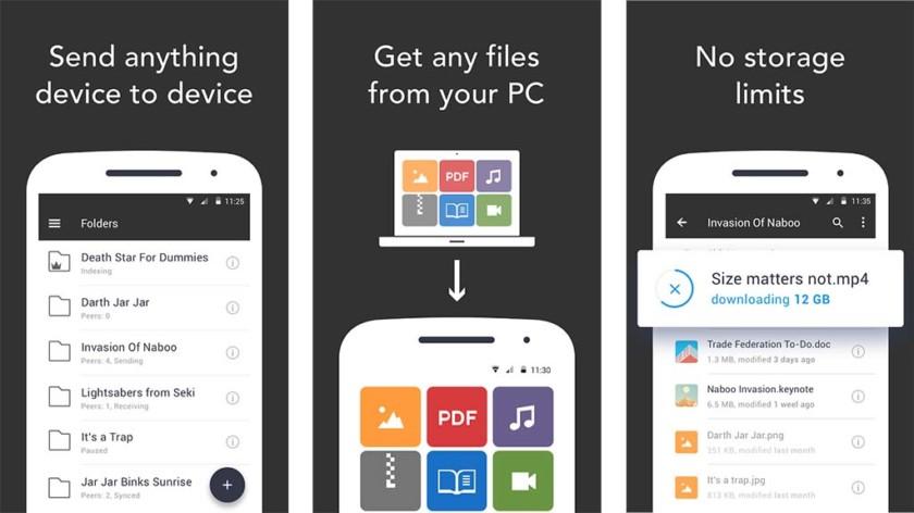 Resilio Sync ist eine der besten kostenlosen Android-Apps