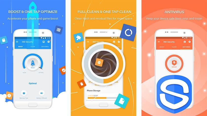 360 Security - beste Antiviren-Apps für Android