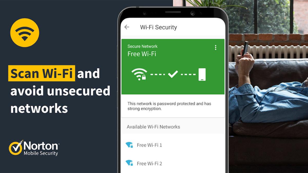 Screenshot 2020 von Norton Mobile Security 2