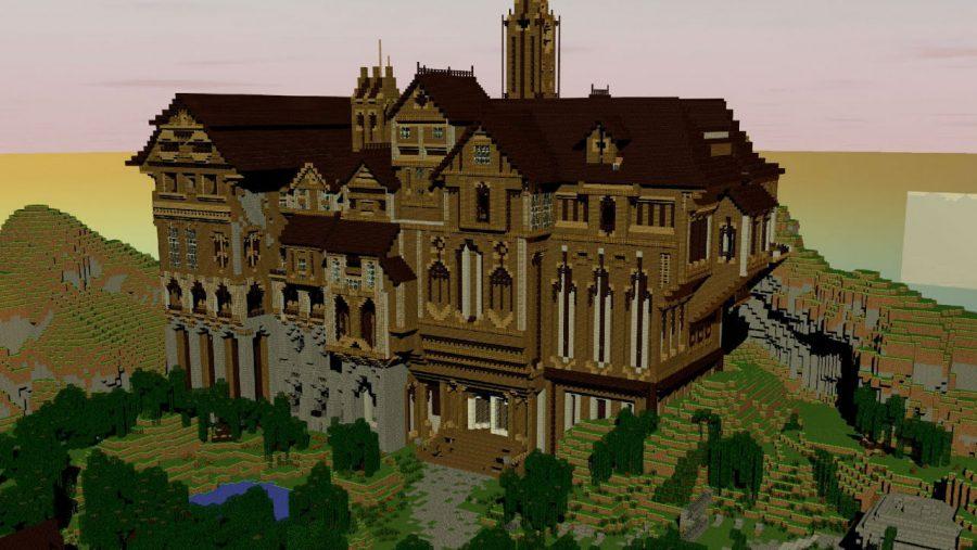 Minecraft-Karten - Herobrines Villa
