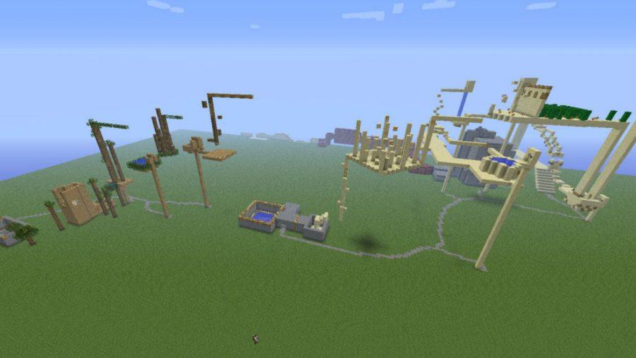 Minecraft-Karten - Deep Space Turtle Chase