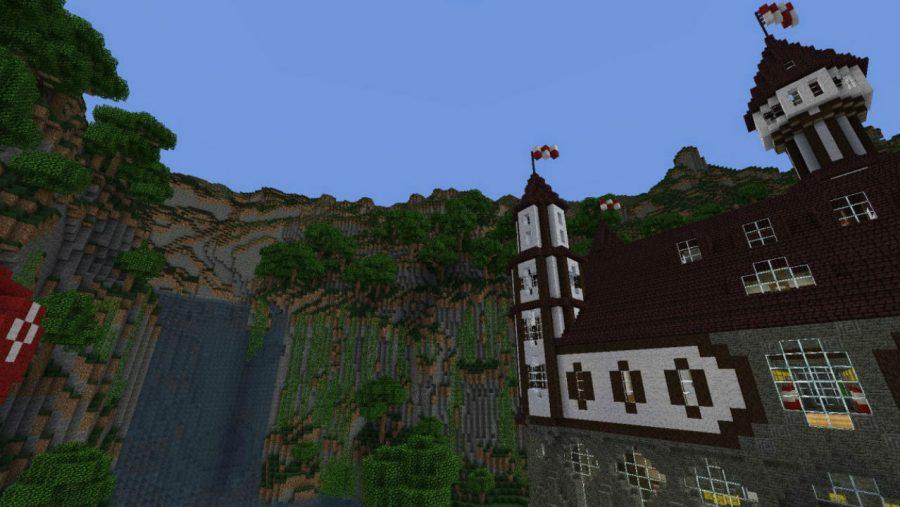 Minecraft-Karten - Schloss Verilian von Aeritus