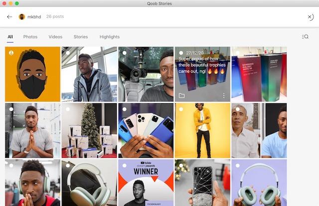 2. Laden Sie Instagram-Fotos und -Videos herunter - Bildunterschrift