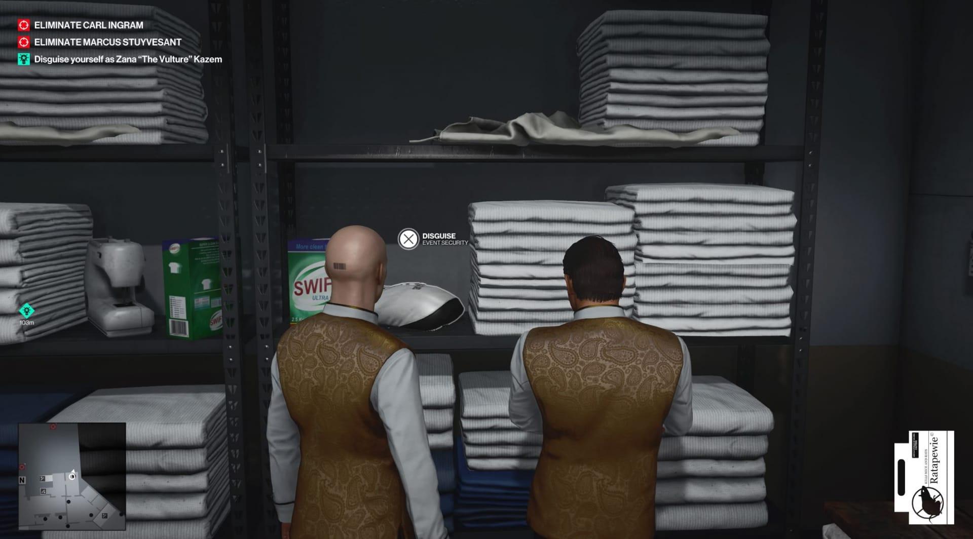 Hitman 3 Waschküche