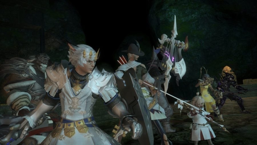 The beautiful protagonists of one of the best MMOs, Final Fantasy XIV