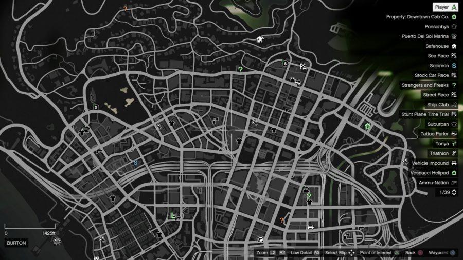 GTA 6 map