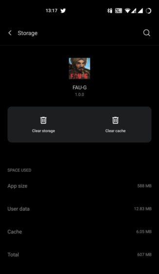 fau-g download größe 2