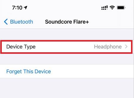 Klassifizieren Sie das Bluetooth-Zubehör in iOS 14.4