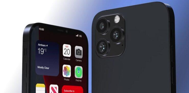 iPhone 13 Konzept rendert