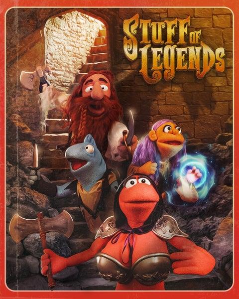 Zeug der Legenden - Plakat