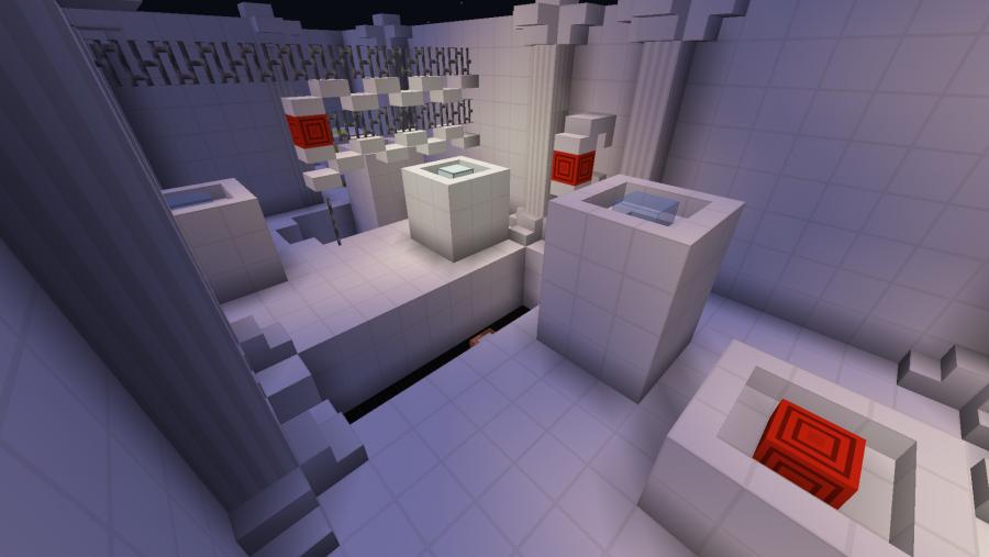 Minecraft Karten - Feuerwerk Parkour