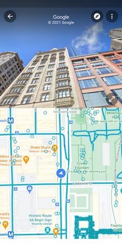 Google fügt eine Split-Screen-Benutzeroberfläche für Street View hinzu