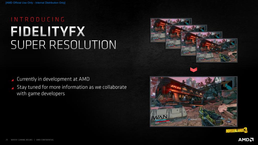 AMD bestätigt, dass FidelityFX Super Resolution 'FSR', sein NVIDIA DLSS-Konkurrent