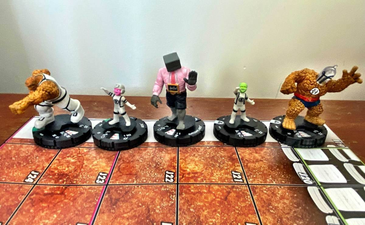 Marvel Fantastic Four Future Foundation HeroClix 005