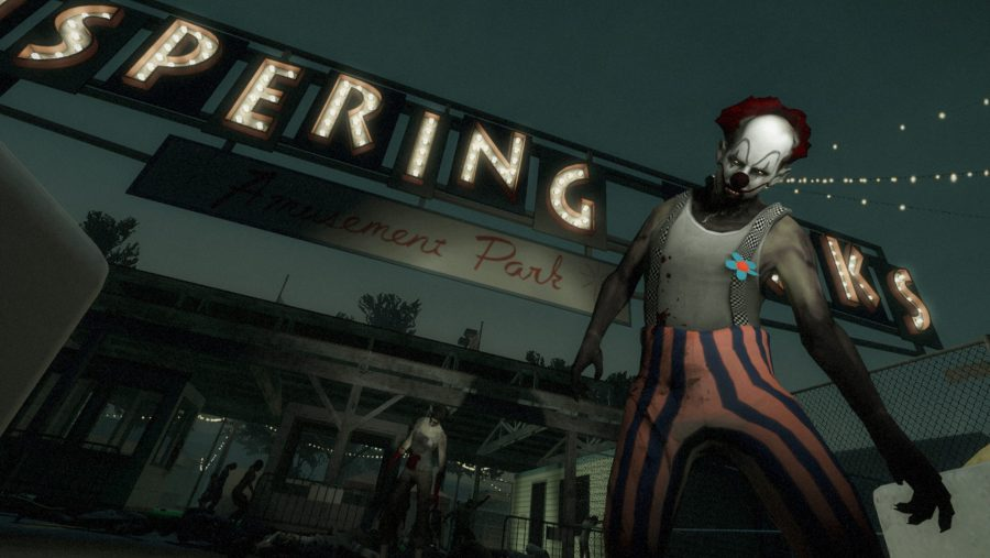 This clown doesn't look particularly funny in Left 4 Dead 2, one of the best zombie games