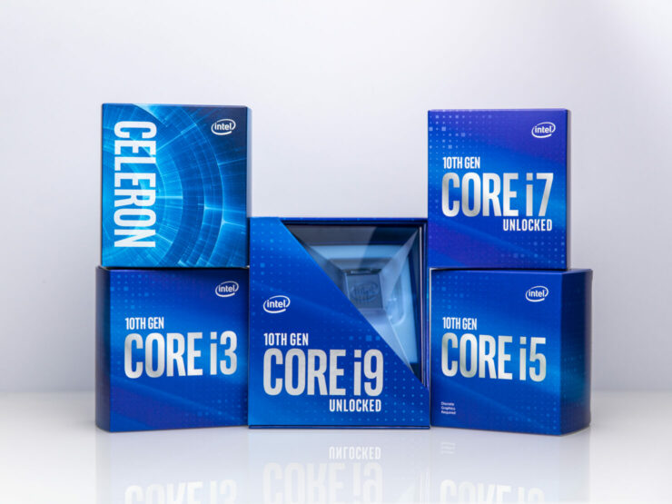 Neues Logo, neues Paket - Intel Core i3-10105F in Malaysia entdeckt Mit Intels neuer Verpackung