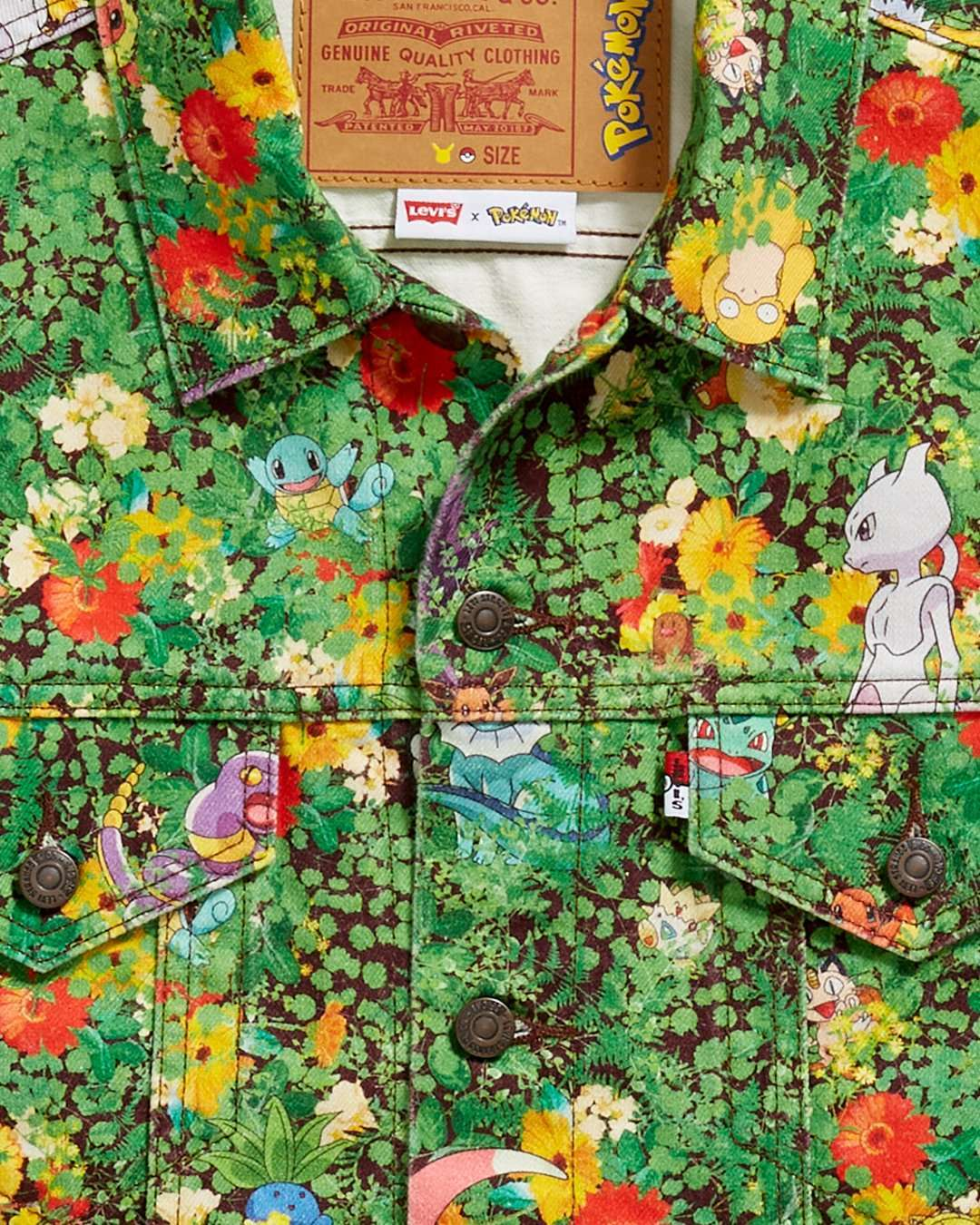 Pokemon-Jacke-Detail