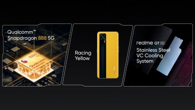 Realme GT 5G Spezifikationen