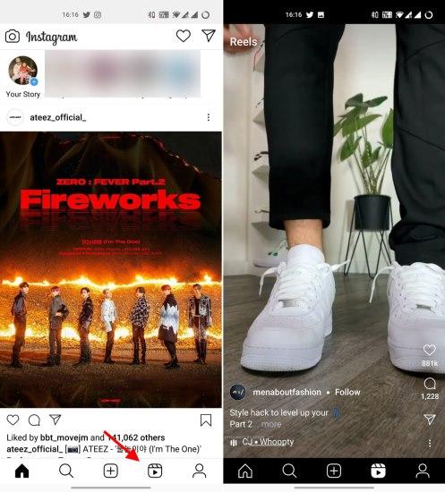 Unterstützung für Instagram Lite-Rollen