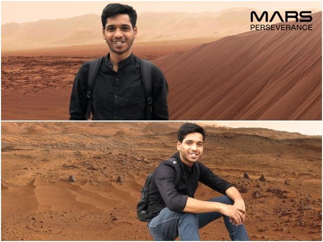 Mars Ausdauer Fotoautomat