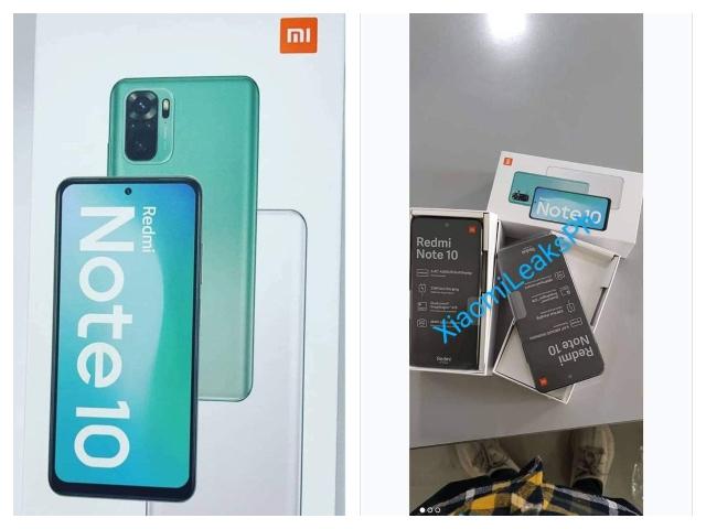 Redmi Note 10 Bildoberfläche online
