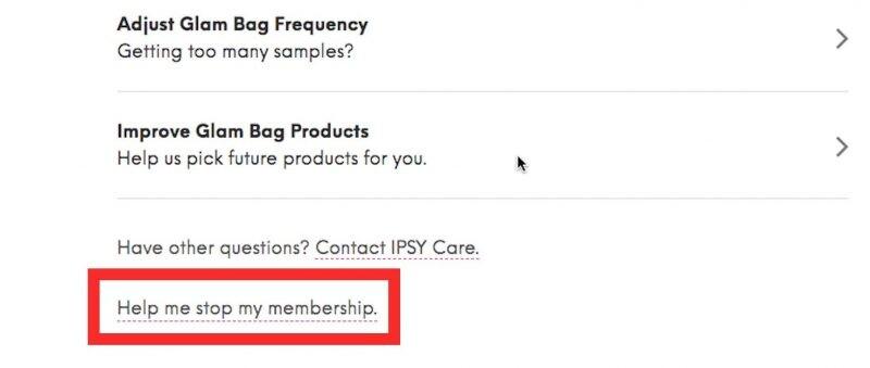 So kündigen Sie die Ipsy-Mitgliedschaft - Beenden Sie die Mitgliedschaft
