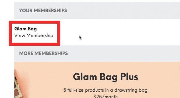 So kündigen Sie die Ipsy-Mitgliedschaft - Zeigen Sie die Mitgliedschaft an