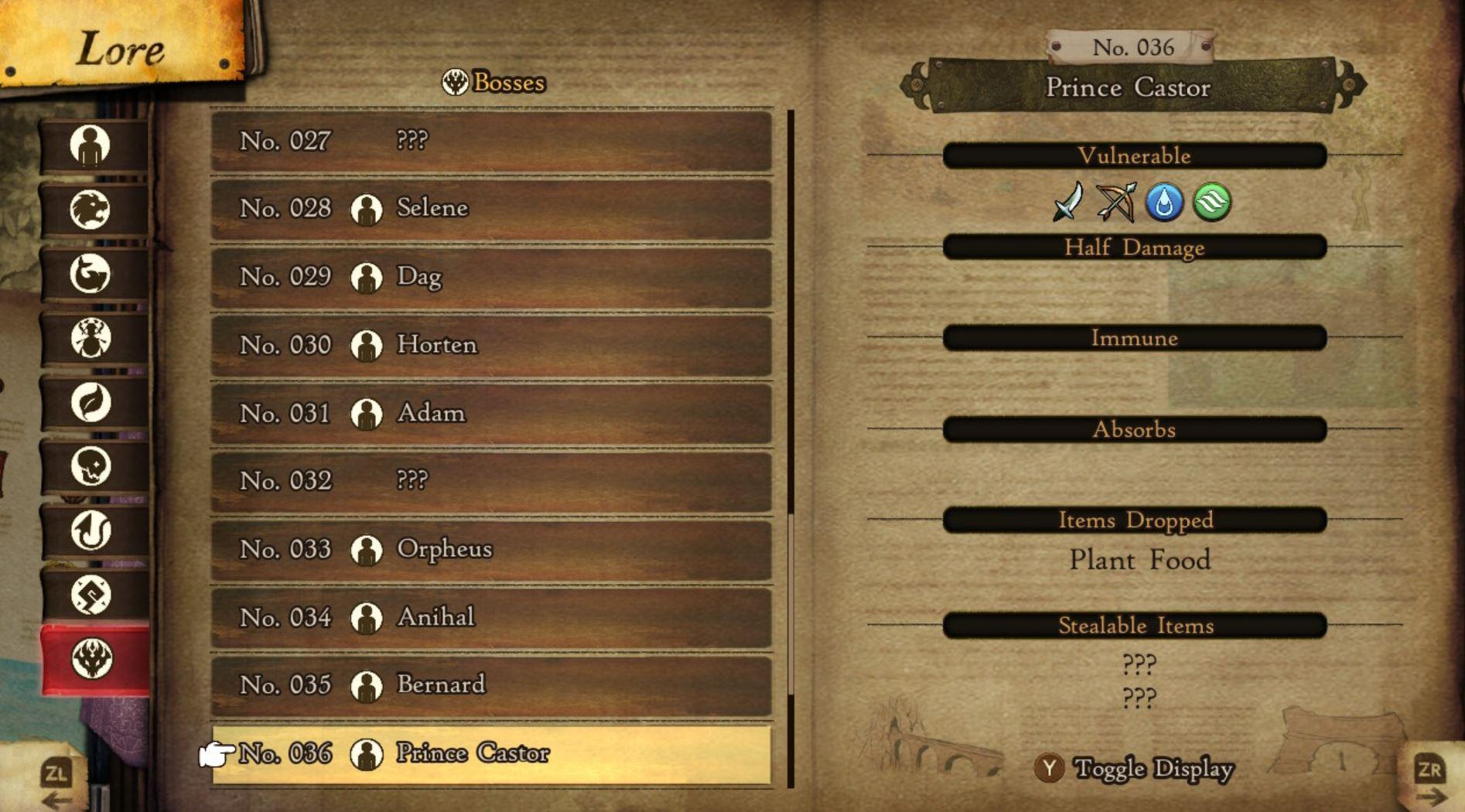 Bravely Default 2 Prince Castor Schwäche