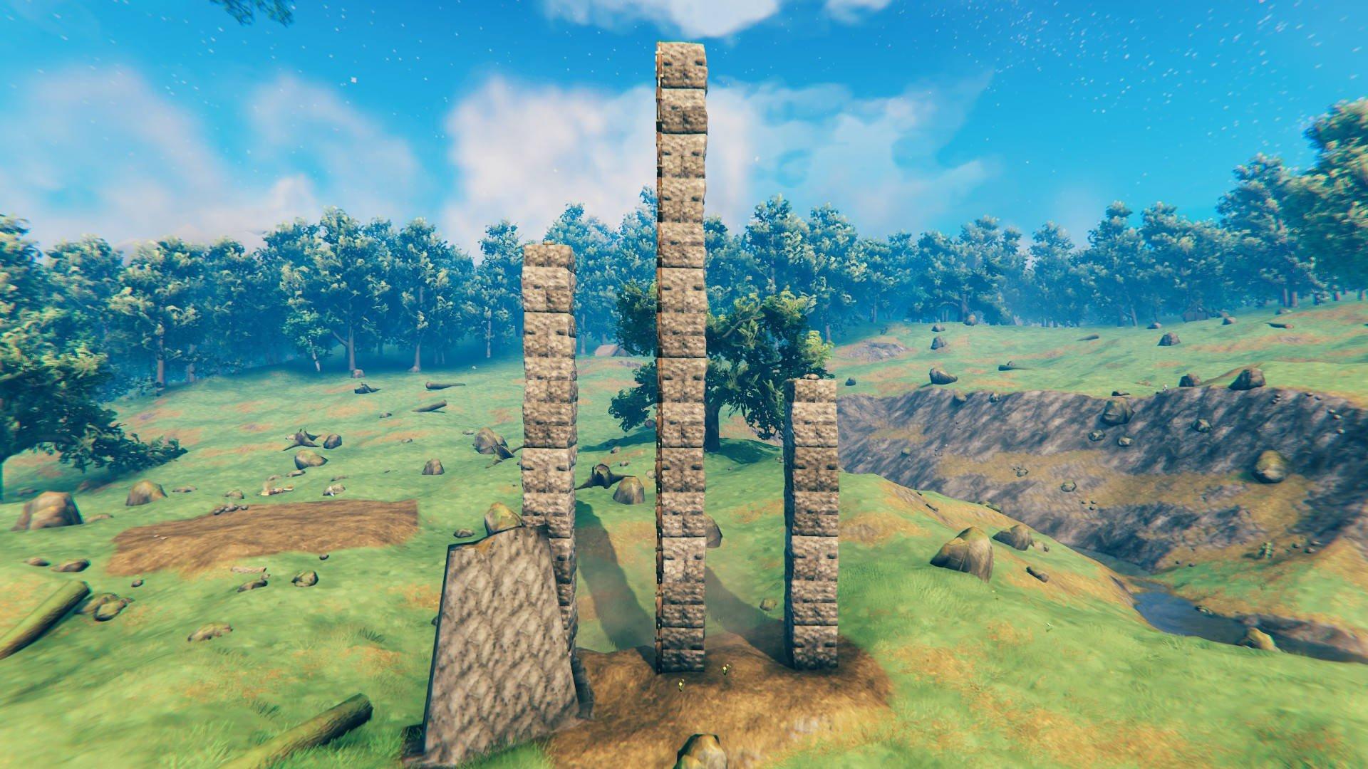 Valheim Stonecutter und Stone Buildings Guide Höhen