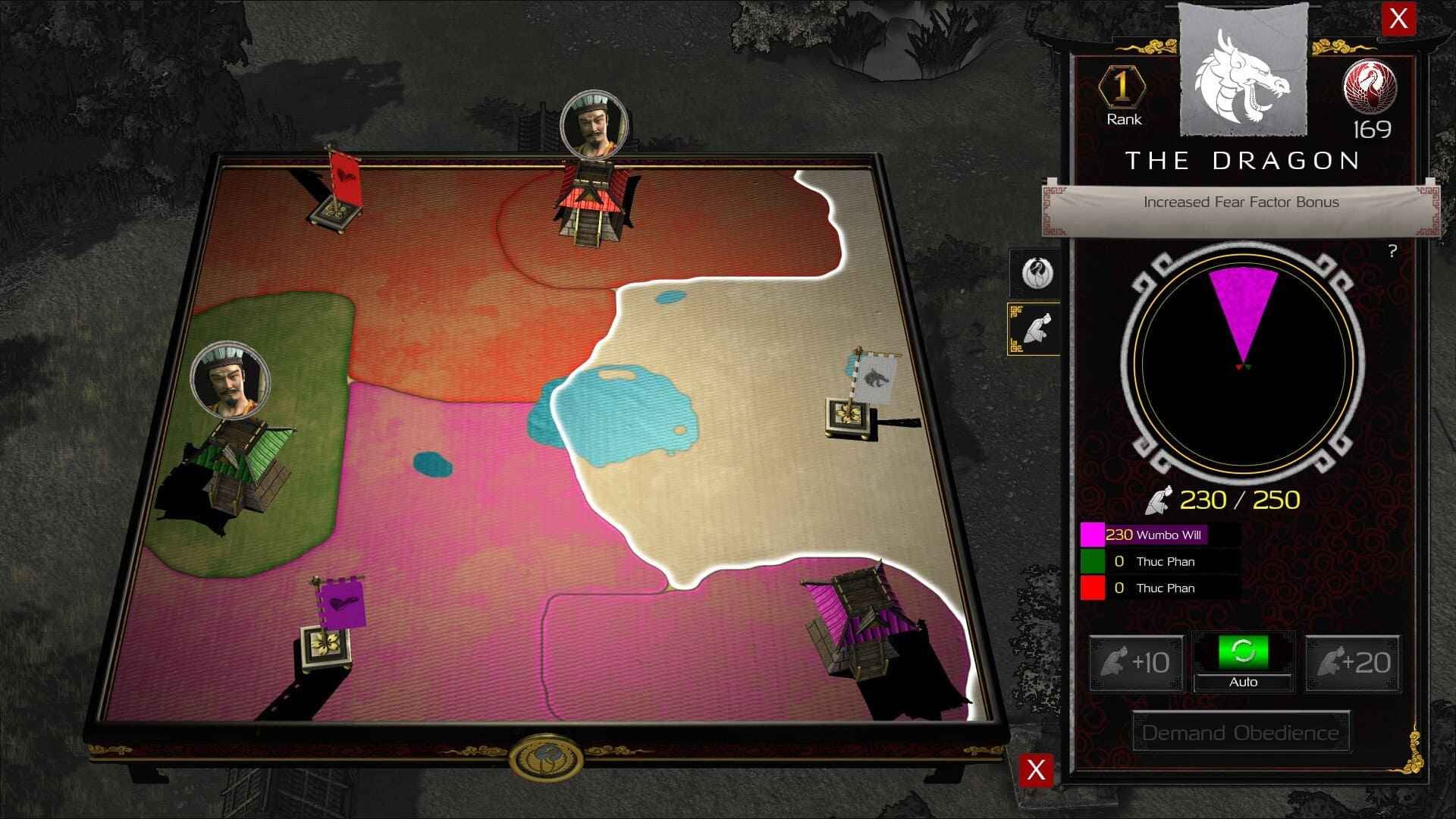 Festung: Warlords Diplomatie