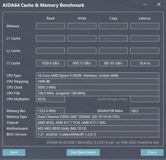 AMD Ryzen 5000 L3-Cache-Leistung MSI AGESA 1.2.0.1 BIOS-Firmware Für X570-, B550- und A520-Motherboards _2