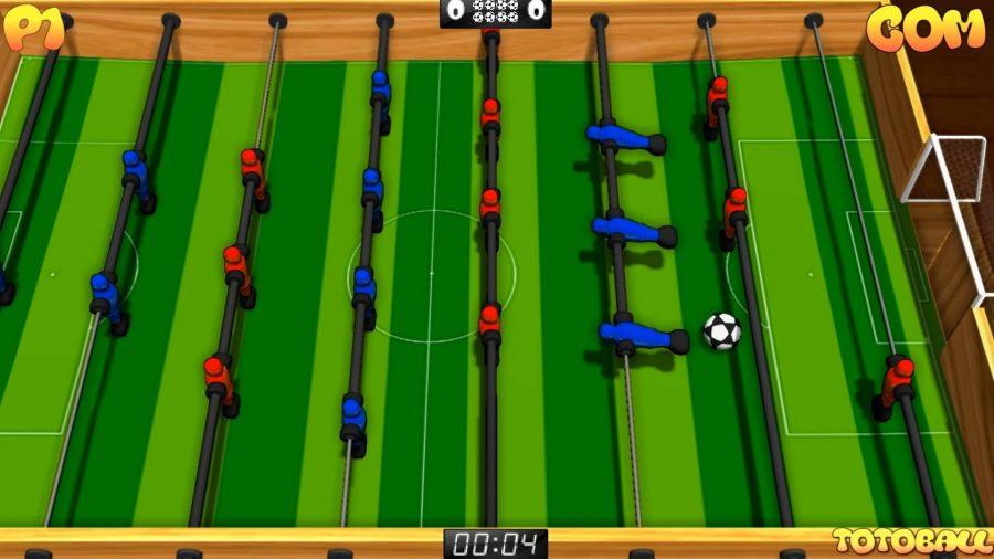 Fußball-Spiele-Totoball