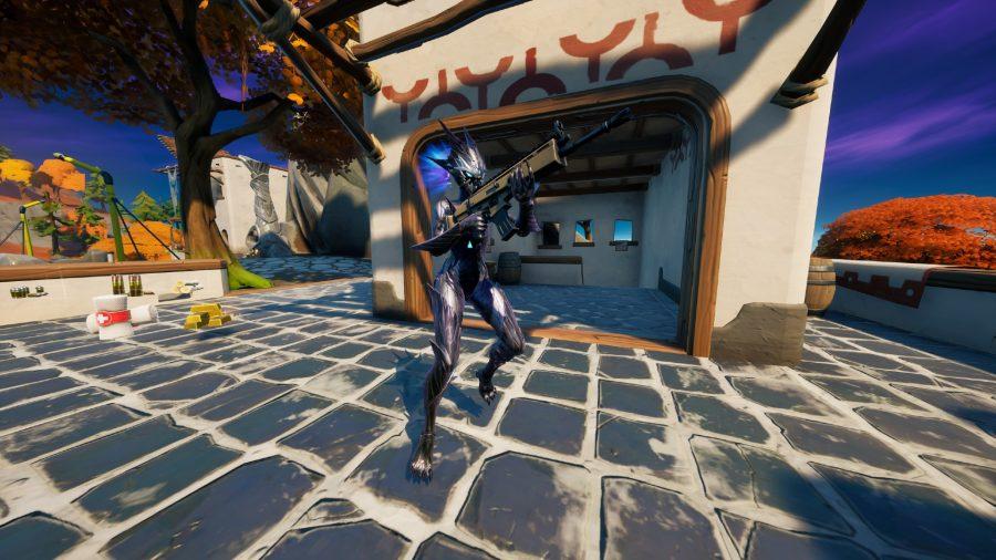 Der Fortnite Spire Assassin-Boss ist bereit, in The Spire anzugreifen