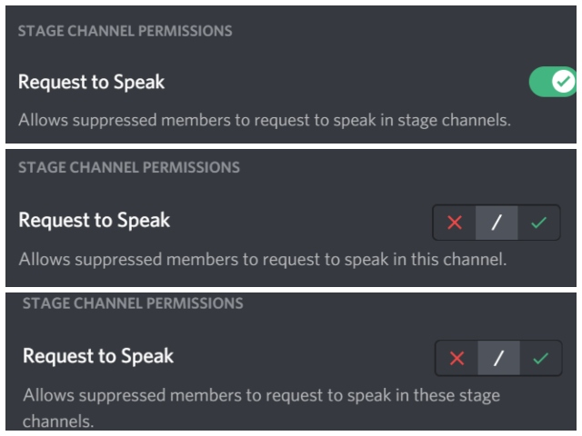 Discord Stage Channel-Funktion