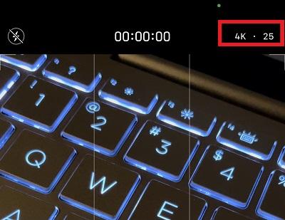 So nehmen Sie Videos im PAL-Format mit 25 Bildern pro Sekunde auf dem iPhone auf