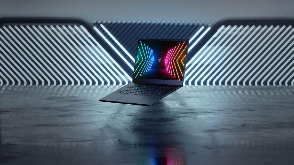 Razer Blade Laptop mit AMD Ryzen 5000 CPU und NVIDIA GeForce RTX 30 GPU