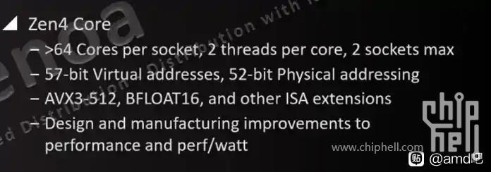 AMD EPYC Genoa Zen 4-CPUs sollen AVX3-512- und BFLOAT16-Befehlssätze enthalten und auf Intel Xeons zurückschlagen