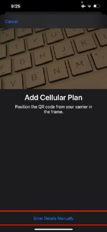 Einrichten und Verwenden von Dual SIM auf dem iPhone SE