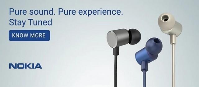 Flipkart beginnt mit der Werbung für Nokia Audioprodukte
