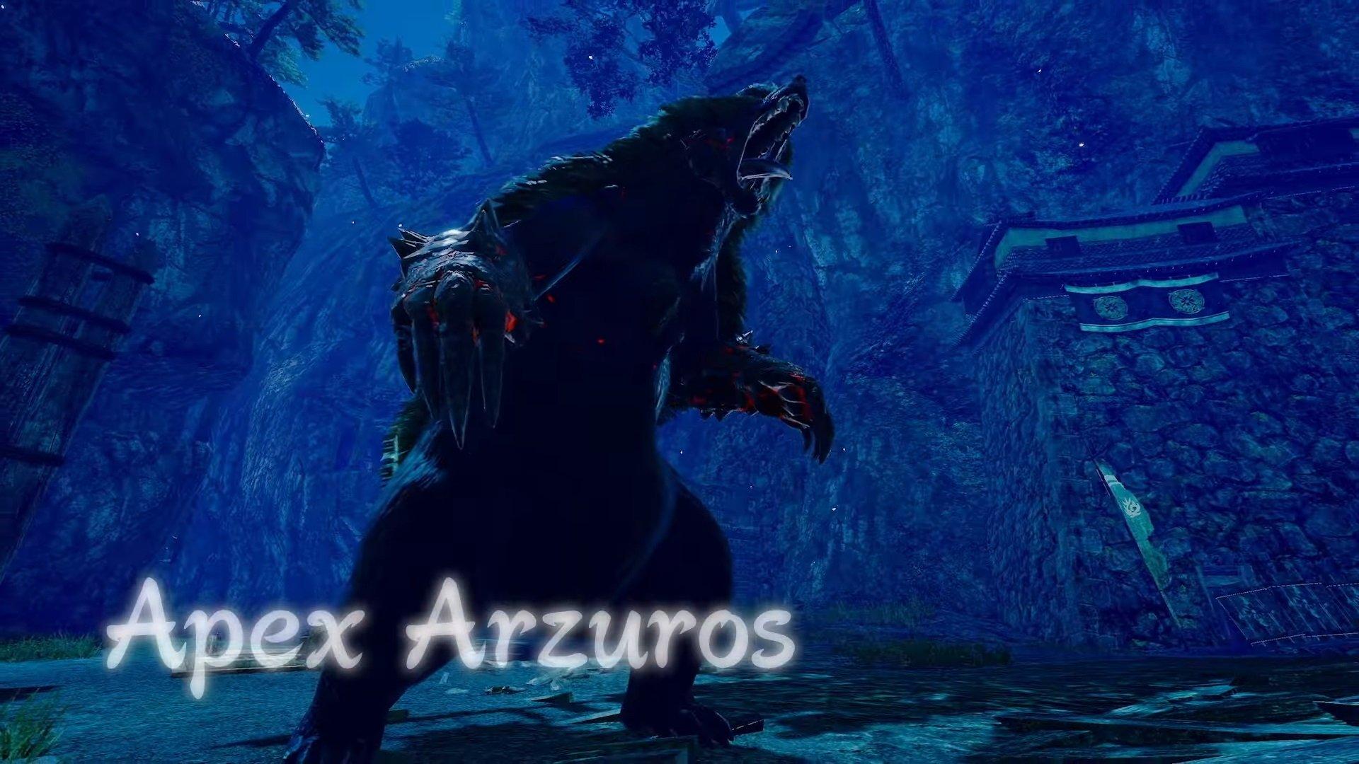 Ein brüllender Apex Arzuros