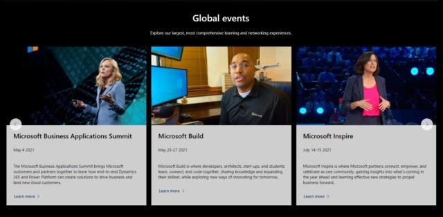 Microsoft-Ereignisse
