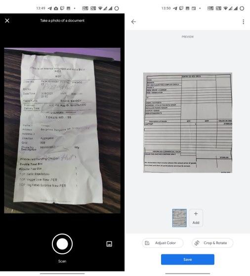 Google Stack - Camscanner 1