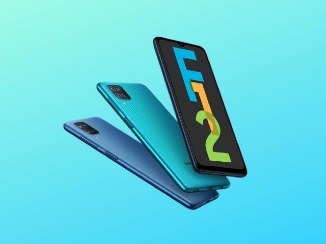 Samsung Galaxy F12 gestartet