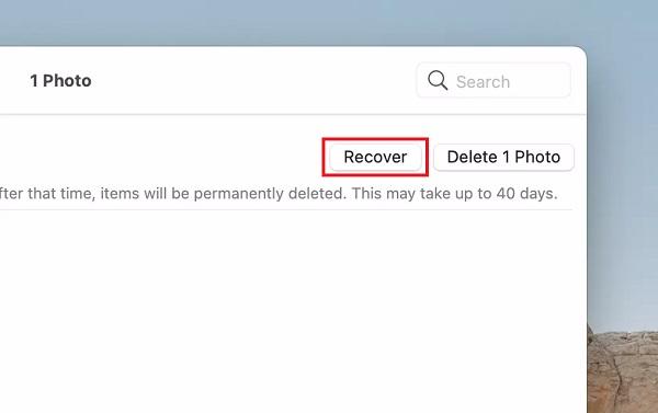 Gelöschte Fotos auf Mac 2 wiederherstellen